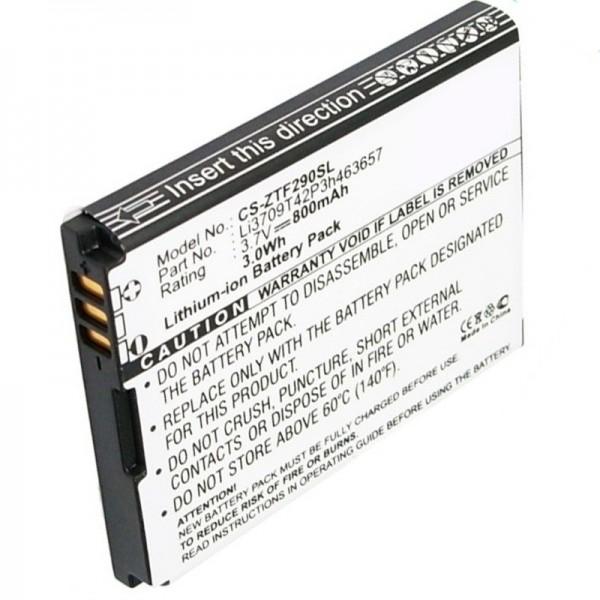 T-Mobile Vairy Touch 2 erstatningsbatteri fra AccuCell