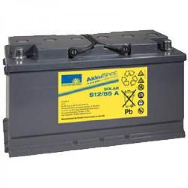Solskin Solar S12 / 85A genopladeligt batterieled 12Volt 85Ah