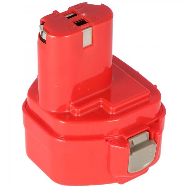 Batteri passer til Klauke RA3, RA4, RA5 replik batteri 12V, NiMH 1,5Ah
