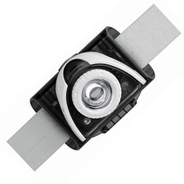 LED Lenser SEO 5 LED forlygte grå inklusive batterier