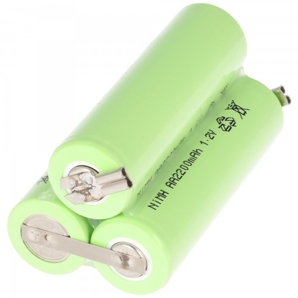 Batteri passer til bellissima ermilia Type 1870 B med 2 stikkontakter