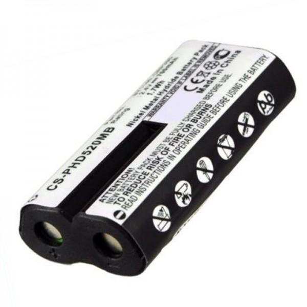 Philips Avent SCD520 genopladeligt batteri NiMH som udskifteligt batteri fra AccuCell