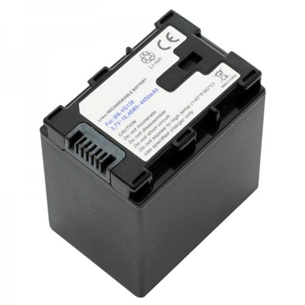 JVC BN-VG138 Replica batteri fra AccuCell 3.7 Volt med 4450mAh