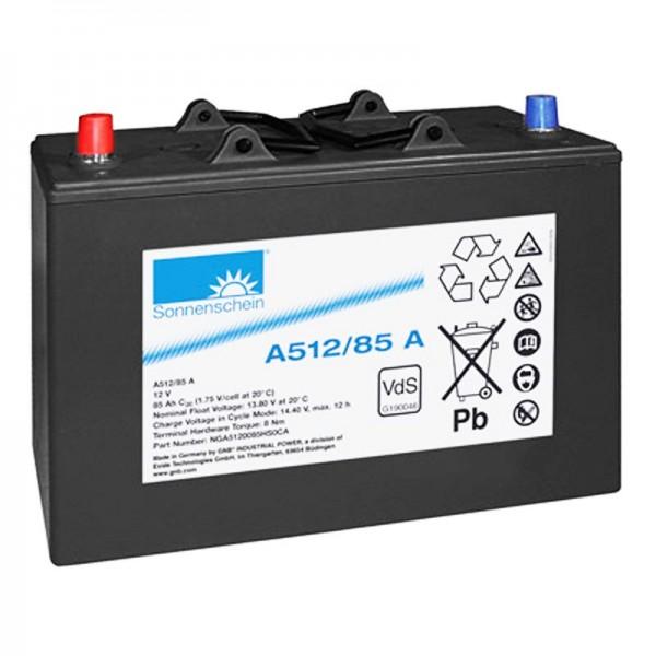 Exide Dryfit A512 / 85A 0889572200 Batteri 12 Volt 85Ah 330 x 171 x 213mm