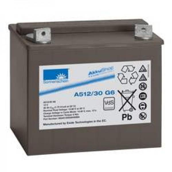 Sunshine Dryfit A512 / 30G6 blybatteri, VDS G196025