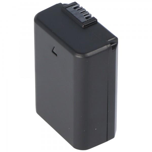 AccuCell batteri passer til Sony NP-FW50 batteri NEX-3, NEX-5, Alpha 55