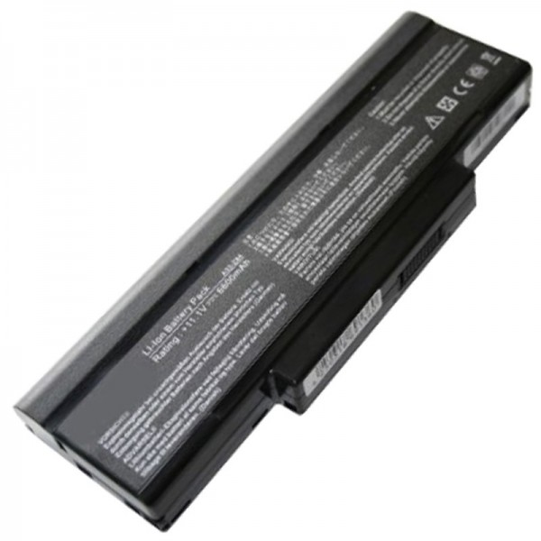 Batteri passer til BTY-M66 batteri BTY-M67, BTY-M68, CBPIL44, CBPIL48, CBPIL72, CBPIL73 6600mAh