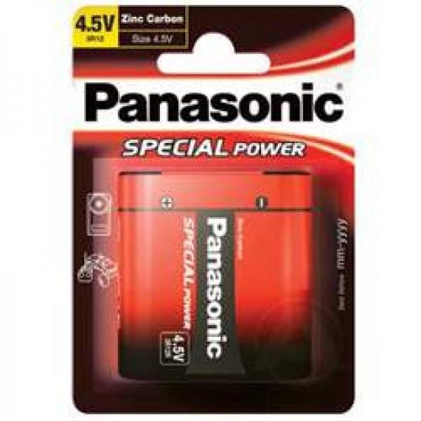Panasonic 3R12 Flade Batteri Special Power 3R12R Zink Carbon