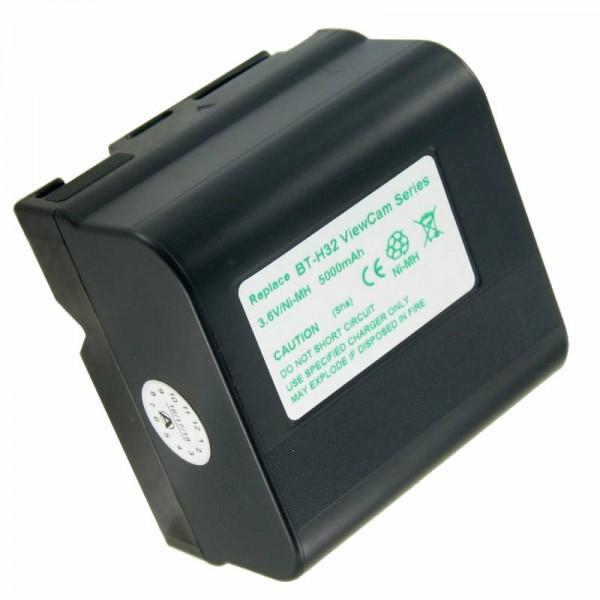 AccuCell batteri passer til Sharp BT-H22, BT-H32U, BT-H22U, BT-H21, BT-H32, 5000mAh
