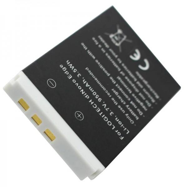 Batteri passer til Logitech diNovo Edge-batteri 190304-2004, F12440071, M50A, DiNovo Mini, Y-RAY81