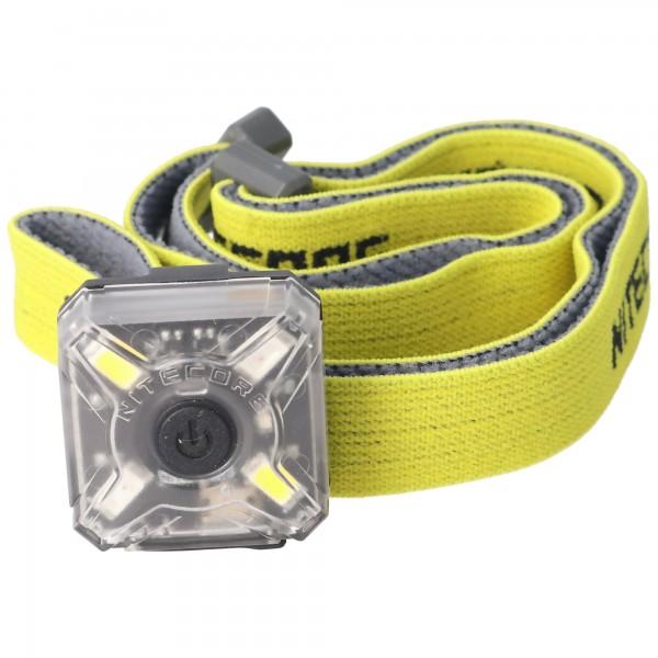 Nitecore NU05 KIT LED-advarselslys inkl. Hovedbøjle 4 højtydende lysdioder