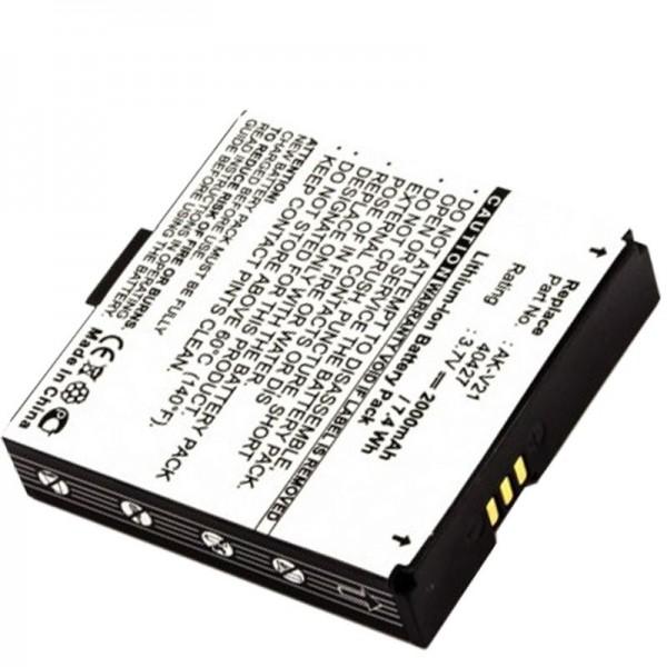AccuCell batteri passer til Emporia Time V20, Talk, AK-V21, 40427