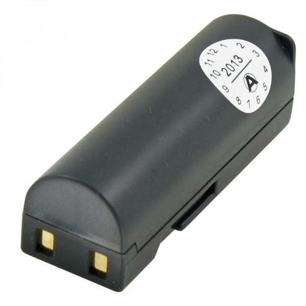AccuCell batteri passer til Samsung SLB-0637 batteri, L77