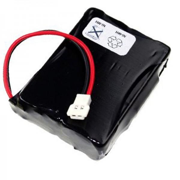 AccuCell batteri passer til Denso BHT-2000, BHT-2065, 496466-0240