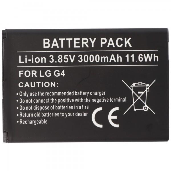 AccuCell batteri passer til LG BL-51YF batteri EAC62858501