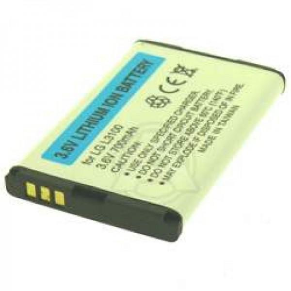 AccuCell batteri passer til LG L3100, 700mAh