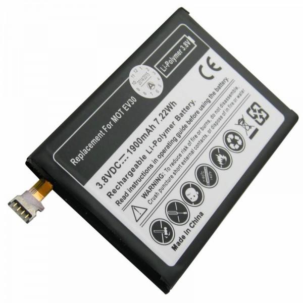 Batteri til Motorola XT925, Motorola Droid Razr Maxx HD 4G, Motorola EV30