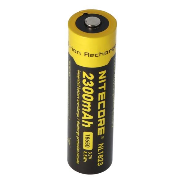 Nitecore Li-Ion batteri type 18650 - 2300mAh - NL1823