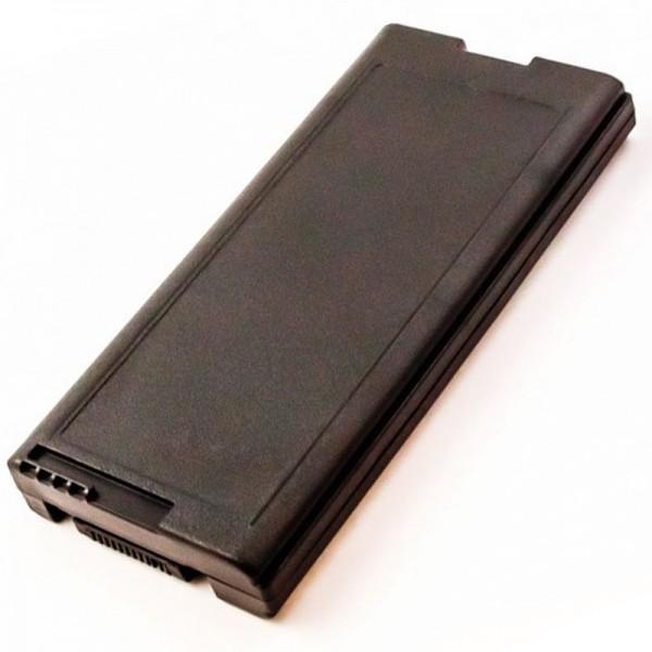 Batteri passer til Panasonic ToughBook CF-29, CF-51, CF-VZSU29U, 11,1 Volt, 7800mAh