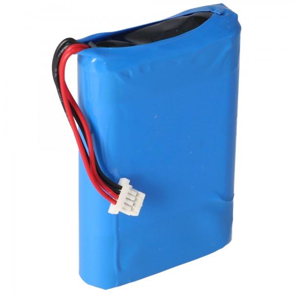 Batteri passer til Nevo S70 fjernbetjening, Nevo batteri A0356 3.7 Volt 1700mAh
