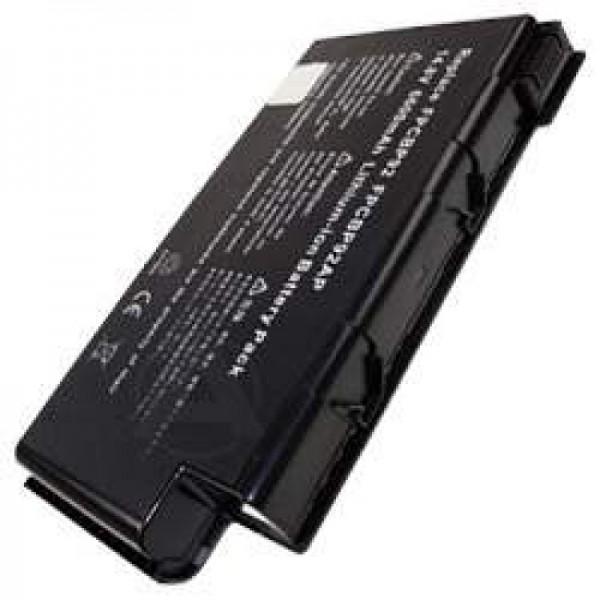 AccuCell batteri til Fujitsu Siemens LifeBook N6000, 6010, 6200