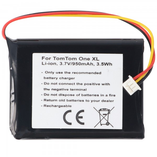 Batteri passer til TomTom One XL batteri F724035958
