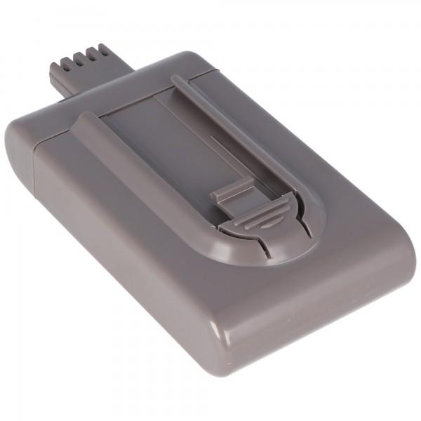 Batteri passer til Dyson DC16 batteri Li-ion BP01 med 21,6 volt og op til 2000mAh