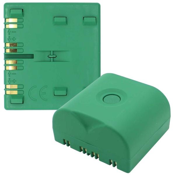 BATLI23 lithium batteri passer til Daitem enheder 2x 3.6 Volt 18 Ah