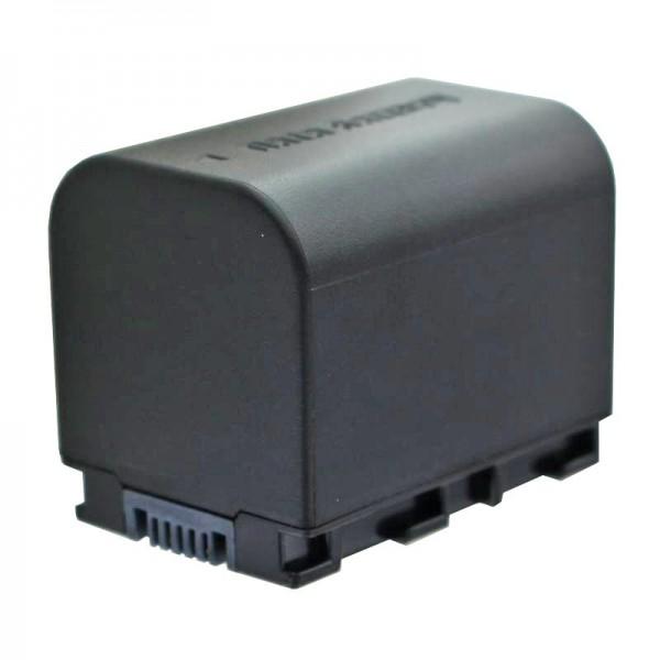 BN-VG121 kompatibelt AccuCell udskiftningsbatteri med 2400mAh