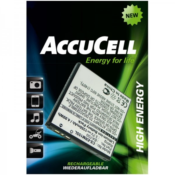 AccuCell batteri passer til Xperia Iyokan