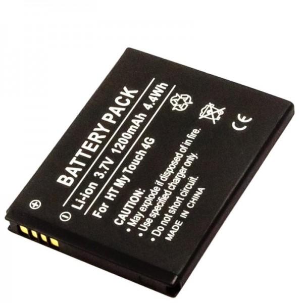 AccuCell batteri passer til HTC 35H00142-02M batteri 35H00142-03M