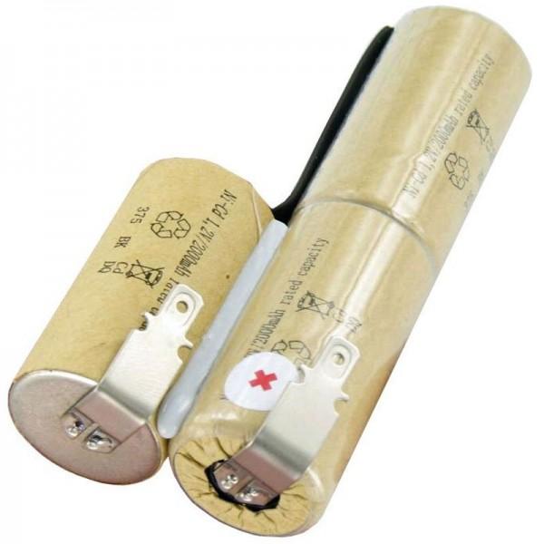 Batteri passer til Bosch AGS 8-batteriet, AGS 8-ST, AGS 50, 3.6 Volt, 2000mAh