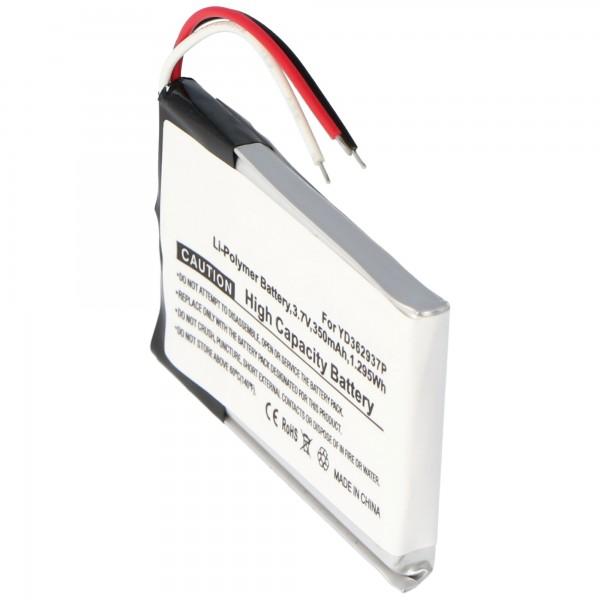 Batteri YD362937P til GoPro ARMTE-001 GoPro Wi-Fi-fjernbetjening (ikke original)