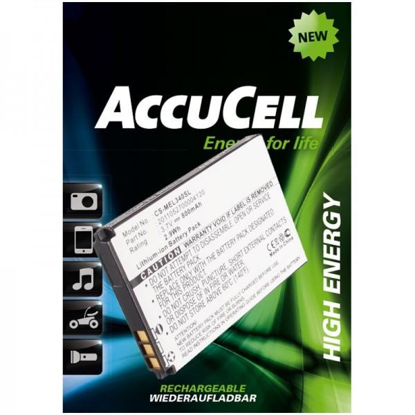 AccuCell batteri passer til Elson, Mobistel EL340, EL340 Dual osv.