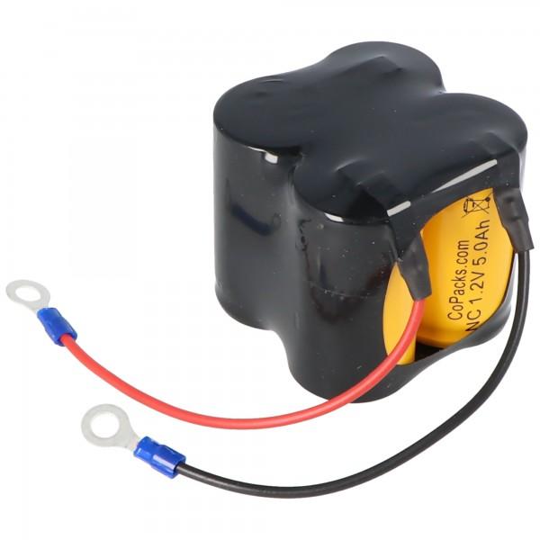 AccuCell batteri passer til CEAG C5008 Ni-CD