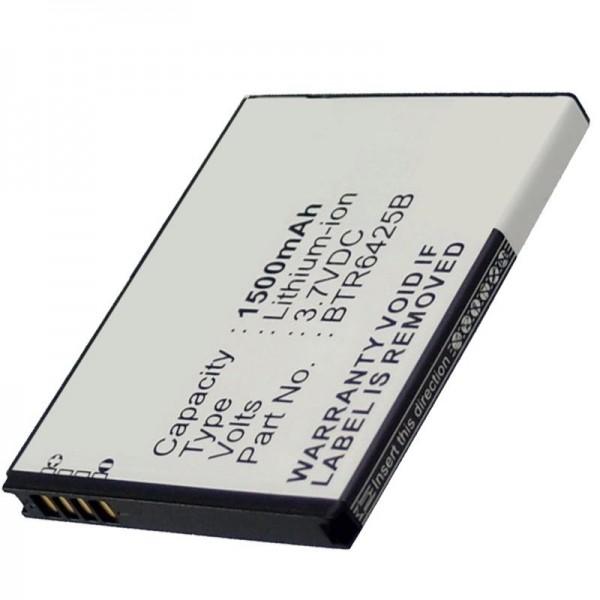 Batteri passer til HTC Desire SV batteri, Thunderbolt 2 batteri