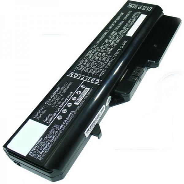 Lenovo IdeaPad G560, M276LGE 5200mAh Replica Batteri fra AccuCell