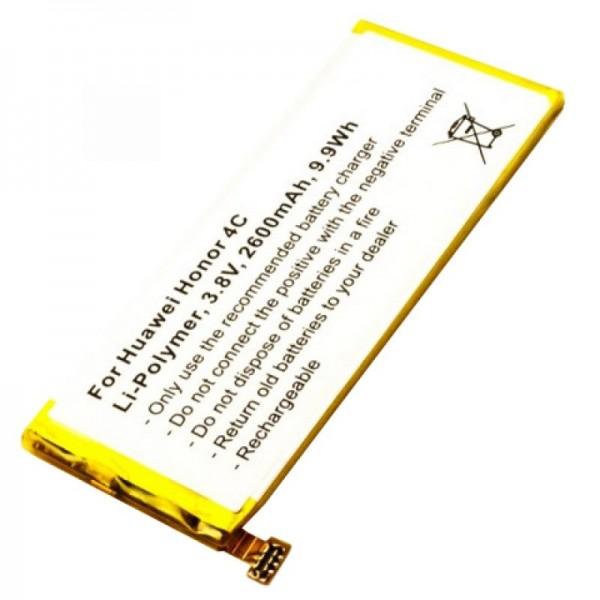 Huawei Honor 4C kvalitet batteritype HB444199EBC + fra AccuCell