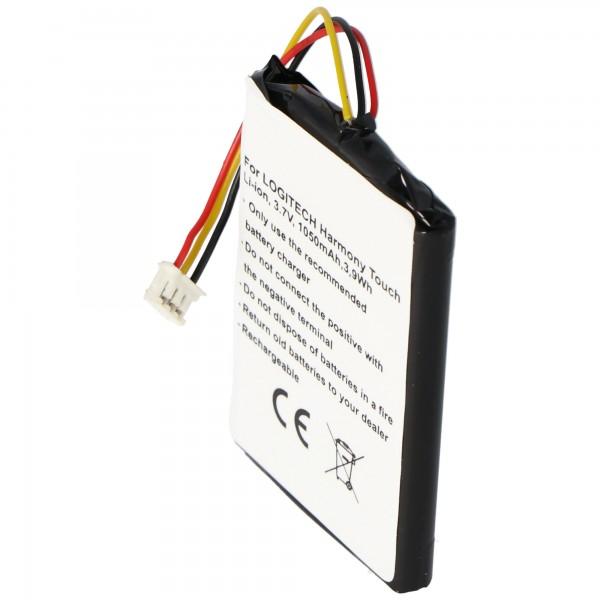 Batteri passer til Logitech 915-000198, Harmony Touch, Harmony Ultimate batteri