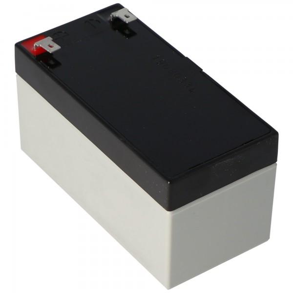 YUASA NP1.2-12 Batterilad PB 12 Volt 1200mAh