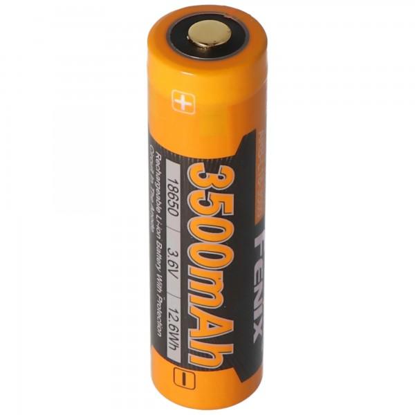 Fenix ARB-L18-3500 Li-ion batteri 18650, 3500mAh kapacitetsbeskyttet
