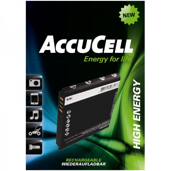 AccuCell batteri passer til HTC HD mini, HTC Photon, HTC T5555
