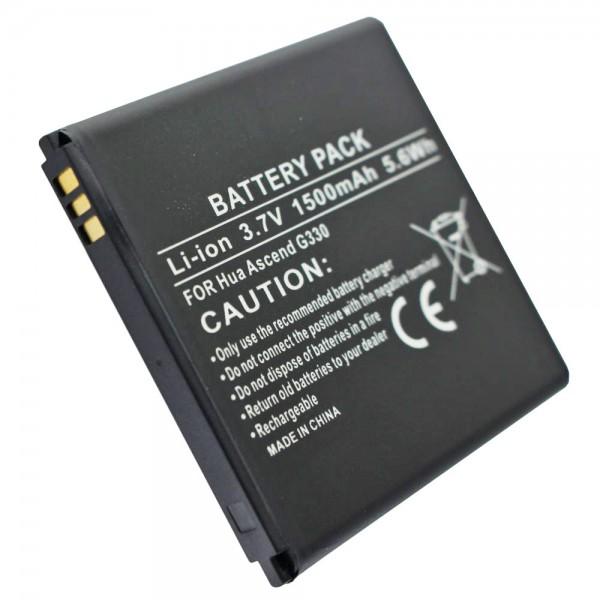 AccuCell batteri passer til T-Mobile myTouch, myTouch Q, myTouch Q U8730, myTouch U8680, U8680, U8730