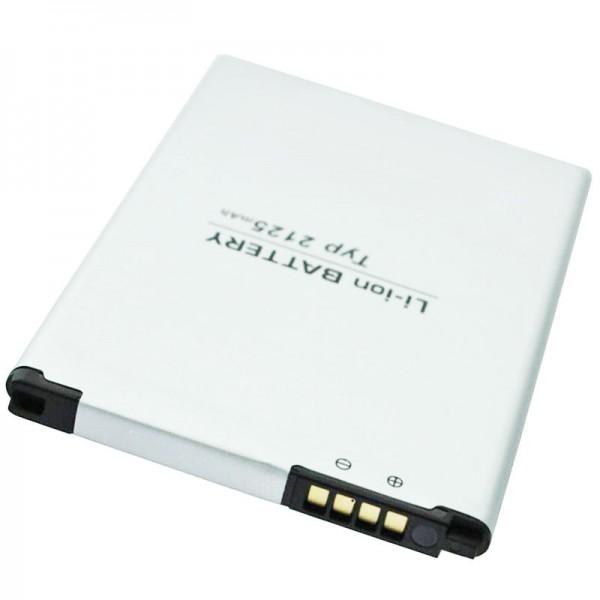 BL-46ZH Ekstra batteri passer til LG BL-46ZH batteri EAC63079701 3.8 Volt