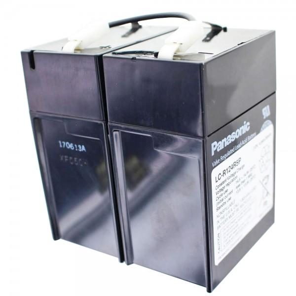 Panasonic LC-R124R2P batteri, LC-R124R5P batteri 12 volt 4.5Ah