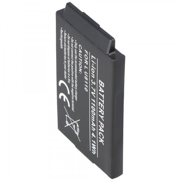 AccuCell batteri passer til LG U8170, 1000mAh