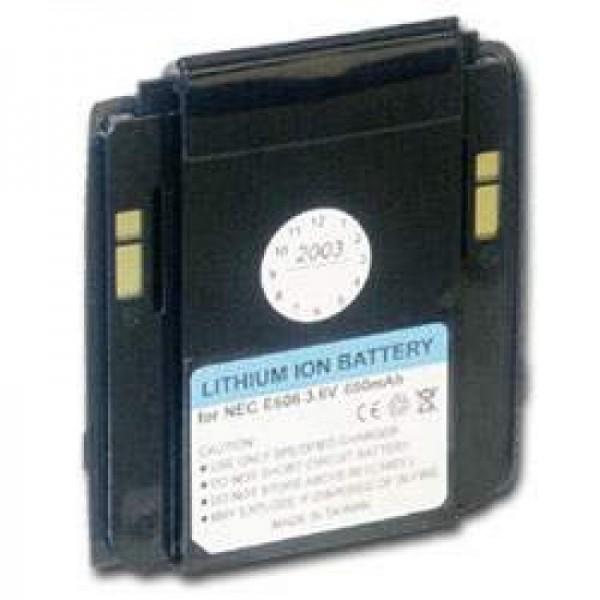 AccuCell batteri passer til NEC e606, e616, 650mAh