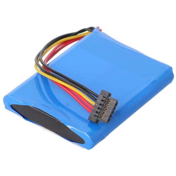 Batteri passer til TomTom XL Live-batteriet, AHL03713005, VF3A, VF3M