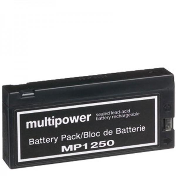 AccuCell batteri passer til Panasonic VW-VBF2E, LC-SD122P, JVC BN-V90