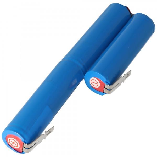 Accu100 batteri passer til Gardena Accu 100 Li-ion batteri 10.8 Volt med 1400mAh